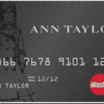 ANN TAYLOR CREDIT CARD LOGIN