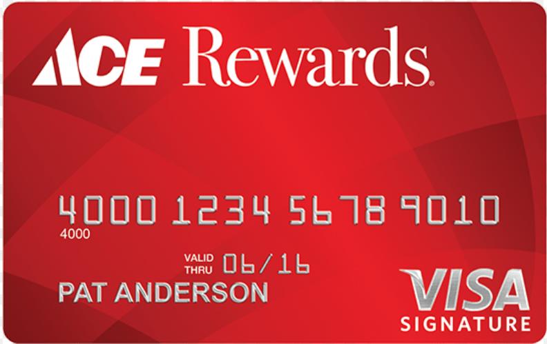 Ace Rewards Visa Business Card