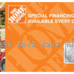 Home Depot credit card login