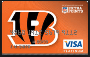 Cincinnati Bengals Extra Points Credit Card