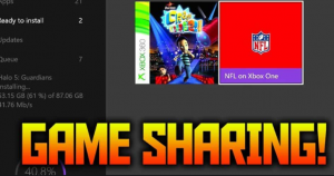 How to Gameshare on the Xbox One